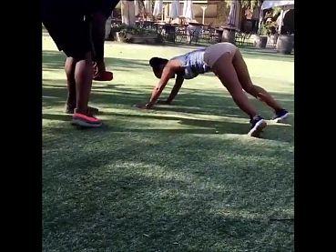 Christina Milian Booty shorts