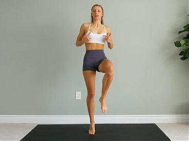 Watch this! Best workout ever, cameltoe at home