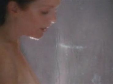 Julian Moore naked shower hard nips