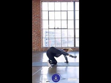 Halle Berry Insta Workout 03 15 21