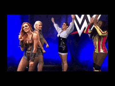 becky lynch sexy dance hot hot hot