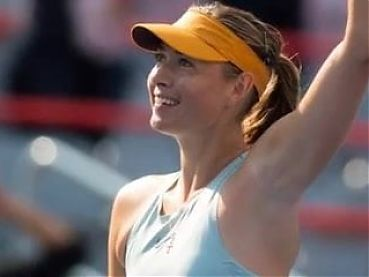 Sharapova dream sexy Armpits (Heavenly taste, Heavenly smell