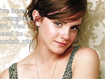 Emma Watson, 3 minute Wank Jerk-off Challenge