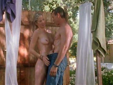 Allison Thomas-Miller has sex in shower