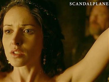 Karen Hassan Nude Scene from 'Vikings' On ScandalPlanet.Com